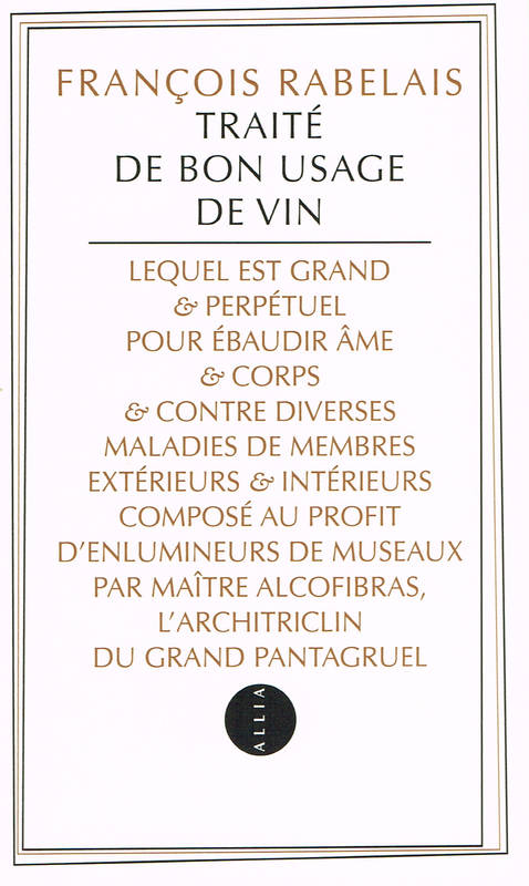 Traité de bon usage de vin