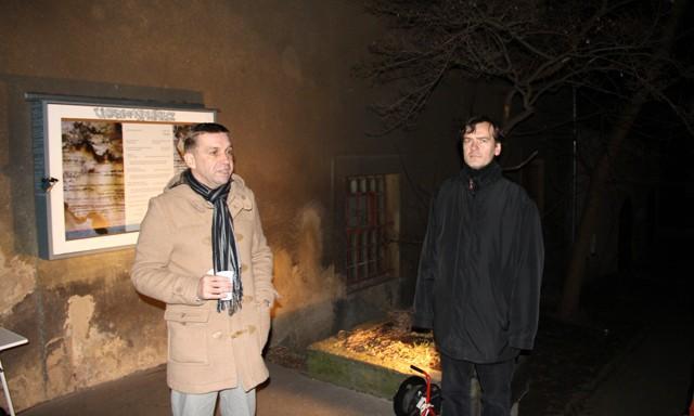 Radek Fridrich (vlevo) a Jaromír Typlt (vpravo). Foto Otto Chmelík