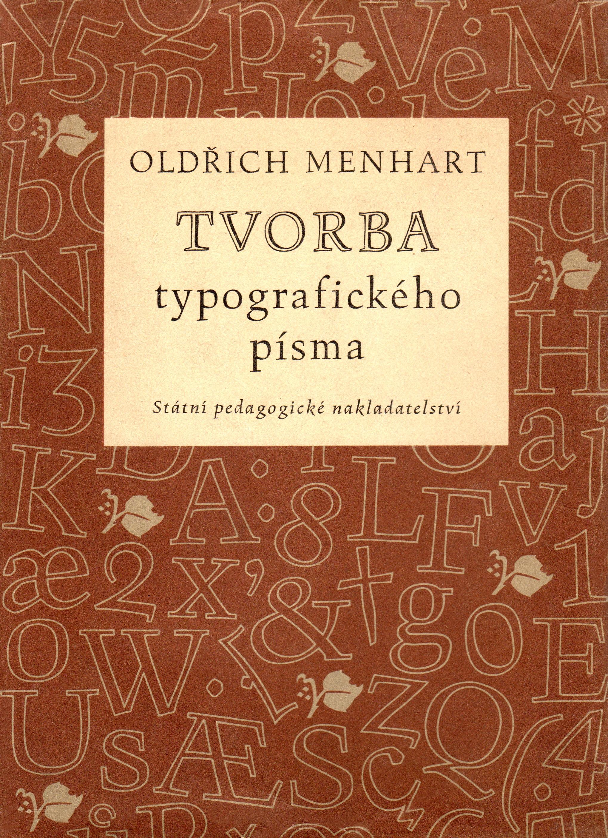 Menhart Tvorba typografickeho pisma