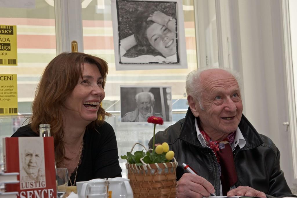 Arnošt Lustig and Markéta Mališová