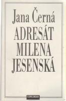 Obálka knihy Adresát Milena Jesenská