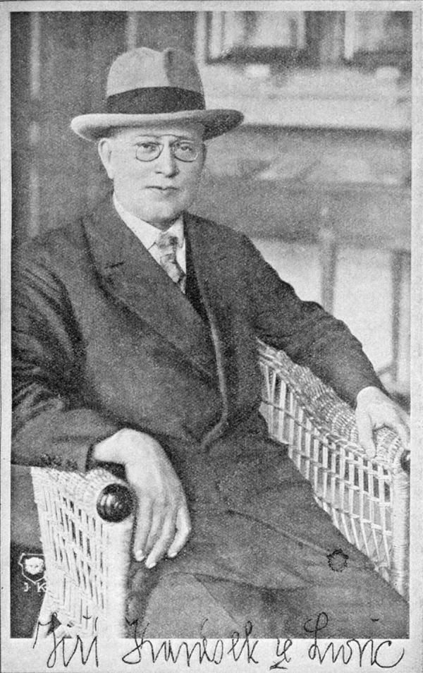 Jiří Karásek ze Lvovic, cca 1930.