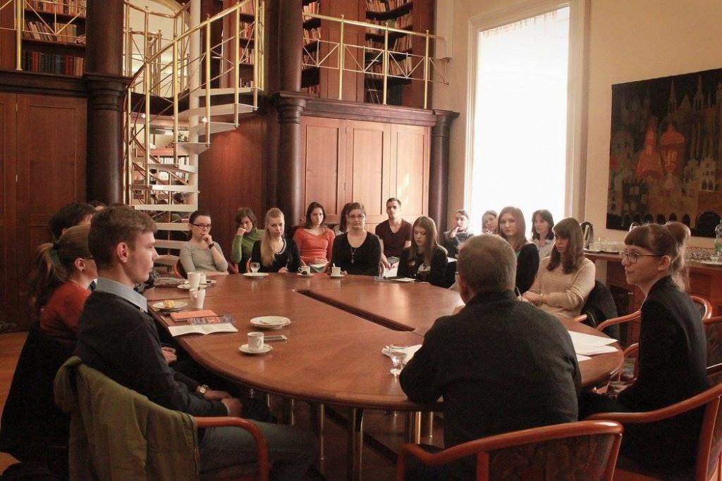Workshop pro účastníky Ceny Susanny Roth 2016. Foto: ČC Budapešť.