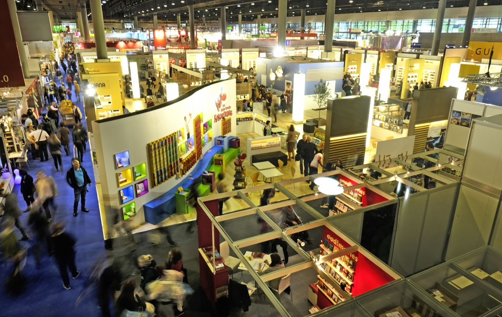 Frankfurt Book Fair. Foto: Alexander Heimann
