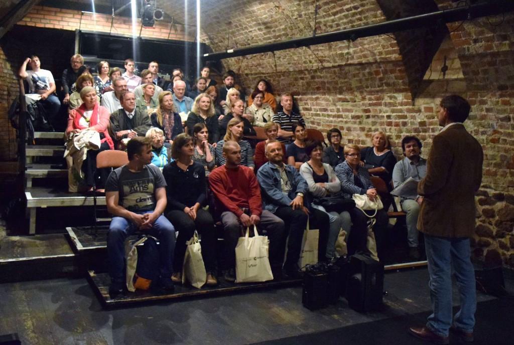 Bohemisté loni v Divadle Husa na provázku. Foto Soňa Šinclová.