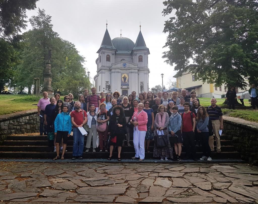 Účastníci Bohemistického semináře. Foto: MZK