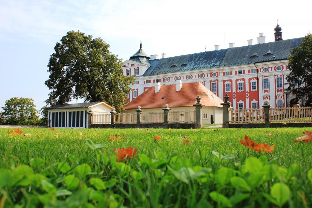 Broumovský klášter. Foto: Kateřina Ostradecká