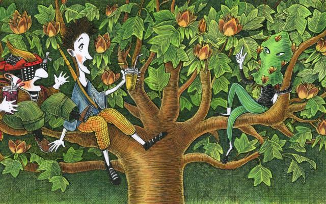 Illustration by Galina Miklínová