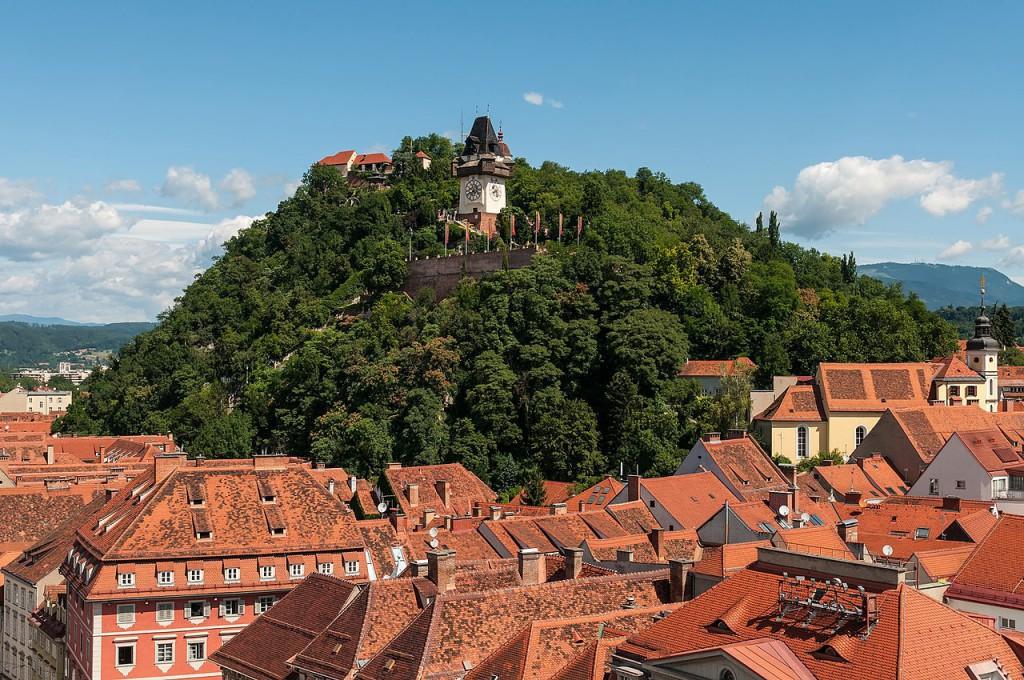 Graz. Foto: Ralf Roletschek, Wikipedia, CC BY-SA 3.0