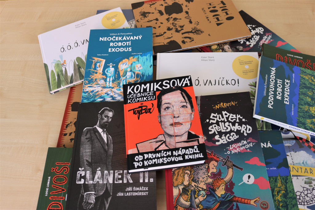 Comics – this year's priority of the Czech Literary Centre
