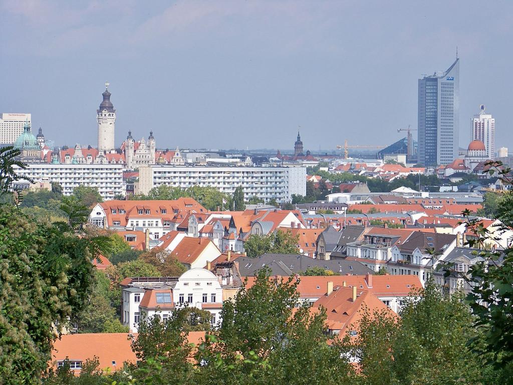 Centrum Lipska. Foto: Johannes Kazah, Wikipedia (CC BY 3.0)