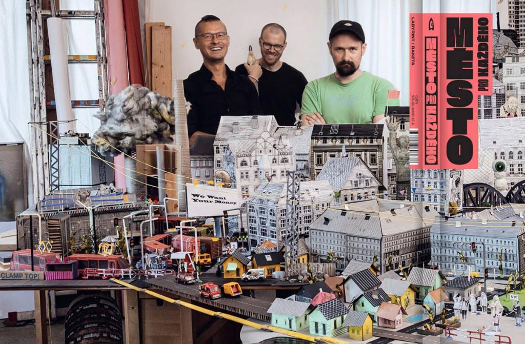 Autoři knihy (zleva) Osamu Okamura, David Böhm a Jiří Franta